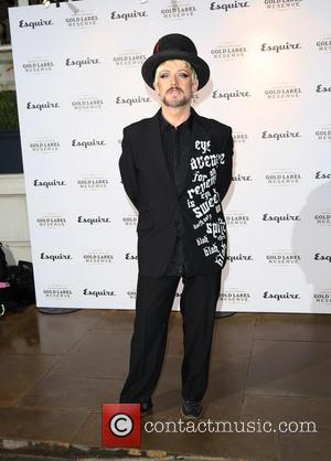 Boy George - London Collections: Men - Esquire Party - Arrivals - London, United Kingdom - Monday 6th January 2014