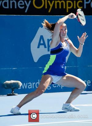 Jelena Jankovic - Apia International Sydney Tennis Tournament at the Sydney Olympic Park Tennis Centre - Sydney, Australia - Monday...