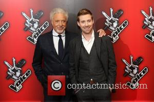 Ricky Wilson and Sir Tom Jones - The Voice UK Red Carpet Launch - Arrivals - London, United Kingdom -...