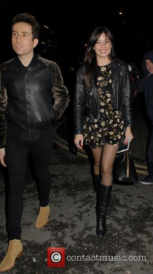 Nick Grimshaw and Daisy Lowe
