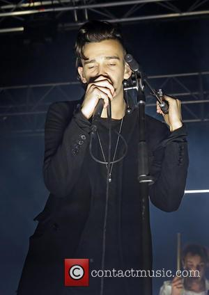 Matthew Healy - Manchester-based alternative rock/indie rock band, The 1975 performing live on stage at Manchester Academy - Manchester, United...