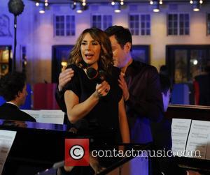 Alex Jones and Matt Baker - The One Show presenters Alex Jones and Matt Baker introducing 14 Kingswood School pianists...