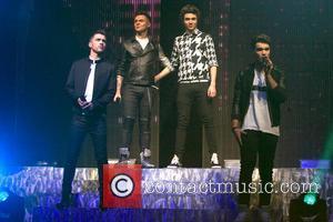 Union J, Josh Cuthbert, Jaymi Hensley, JJ Hamblett and George Shelley - Union J perform a headlining gig at the...