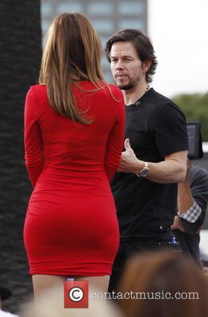 Mark Wahlberg and Maria Menounos