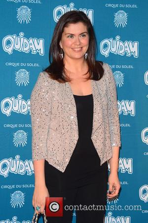 Amanda Lamb - Cirque du Soleil 30th anniversary performance of Quidam held at the Royal Albert Hall - Arrivals -...