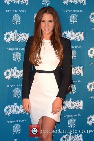 Danielle Lloyd - Cirque du Soleil 30th anniversary performance of Quidam held at the Royal Albert Hall - Arrivals -...