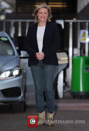Laurie Brett - Laurie Brett outside itv studios - London, United Kingdom - Tuesday 7th January 2014
