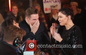 Casey Batchelor, Lee Ryan and Emma Willis