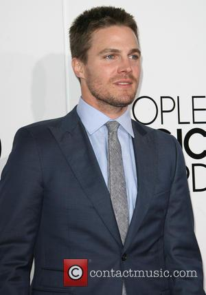 Stephen Amell - Peoples Choice Awards 2014 Arrivals held at Nokia Theatre L.A. Live, 777 Chick Hearn Ct., Los Angeles,...