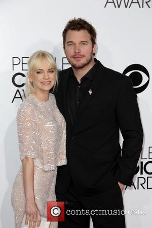 Anna Faris and Chris Pratt
