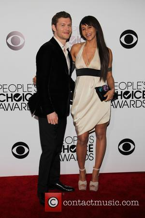 Joseph Morgan and Persia White