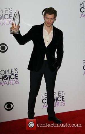 Joseph Morgan - People's Choice Awards 2014 Press Room held at Nokia Theatre L.A. Live, 777 Chick Hearn Ct., Los...