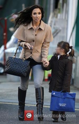 Myleene Klass and Ava Quinn - Myleene Klass and her daughter Ava Quinn out and about in north London -...