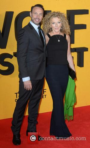 Jason Gardiner and Kelly Hoppen - The Wolf of Wall Street U.K. premiere held at the Odeon Leicester Square -...