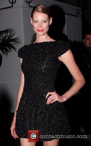Alyssa Sutherland - W's Golden Globes Party 2014 held at Chateau Marmont - Outside Arrivals - Los Angeles, California, United...