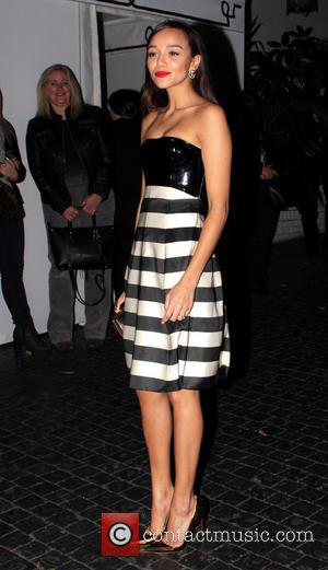 Ashley Madekwe - W's Golden Globes Party 2014 held at Chateau Marmont - Outside Arrivals - Los Angeles, California, United...