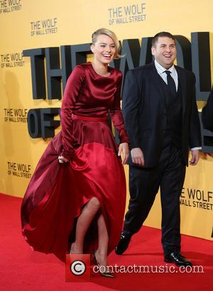 Margo Robbie and Jonah Hill