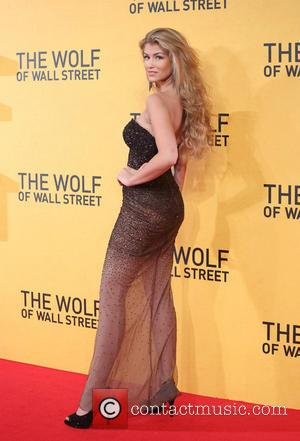Amy Willerton - The Wolf of Wall Street - UK film premiere held at the Odeon Leicester Square - Arrivals...