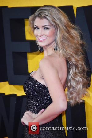AMY WILLERTON - The Wolf of Wall Street U.K. premiere held at the Odeon Leicester Square - Arrivals - London,...