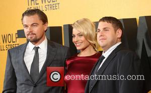 Leonardo DiCaprio, Margot Robbie and Jonah Hill - The Wolf of Wall Street - UK film premiere held at the...