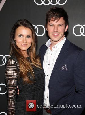 Matt Lanter and Angela Stacy - Audi celebrates Golden Globes event held at Cecconi's restaurant - Los Angeles, California, United...