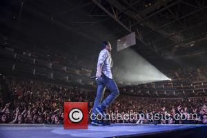 Adam Levine - Maroon 5 perform live at The O2 as part of their 'Overexposed Tour' - London, United Kingdom...
