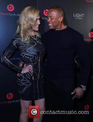 Nicole Threatt and Dr Dre - Beats by Dre Celebrates CES with After Party at Light Nightclub at Mandalay Bay...