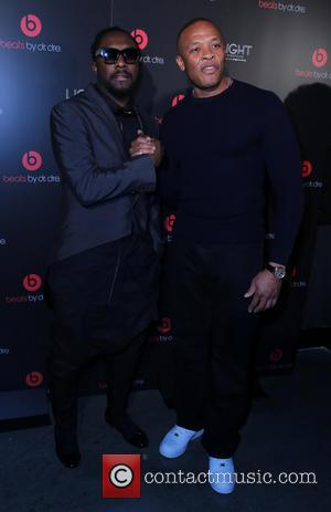 Will I Am and Dr Dre