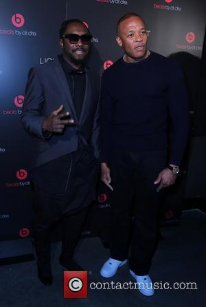 Will I Am and Dr Dre - Beats by Dre Celebrates CES with After Party at Light Nightclub at Mandalay...