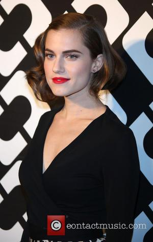 Allison Williams - Diane Von Furstenberg's Journey of A Dress exhibition opening celebration at May Company Building at LACMA West...