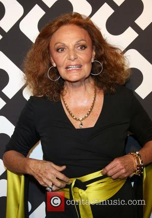 Diane von Furstenberg - Diane Von Furstenberg's Journey of A Dress exhibition opening celebration at May Company Building at LACMA...