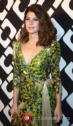 Marisa Tomei - Diane Von Furstenberg's Journey of A Dress exhibition opening celebration at May Company Building at LACMA West...