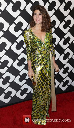 Marisa Tomei - Diane von Furstenberg's 'Journey Of A Dress' 40th Anniversary Party at Wilshire May Company Building - Arrivals...