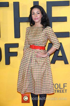 Kathryn Drysdale - The Wolf of Wall Street - UK film premiere held at the Odeon Leicester Square - Arrivals...
