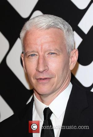 Anderson Cooper - Diane Von Furstenberg's Journey Of A Dress Exhibition Opening Celebration At May Company Building - Los Angeles,...