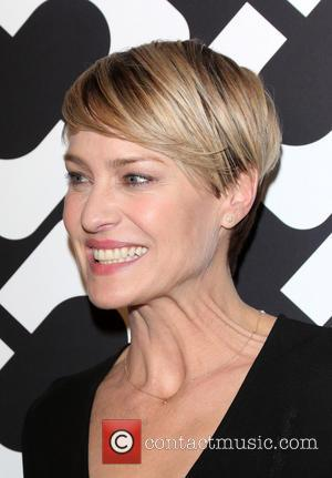 Robin Wright - Diane Von Furstenberg's Journey Of A Dress Exhibition Opening Celebration At May Company Building - Los Angeles,...