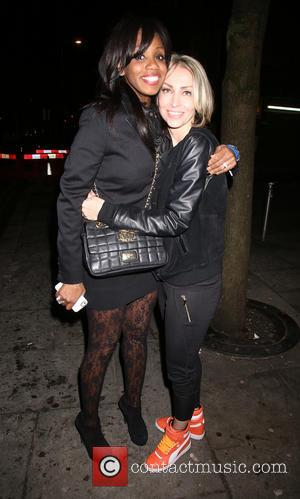 Shaznay Lewis and Natalie Appleton - Celebrities leave London's Shepherd's Bush Empire after attending Melanie C's 'Sporty's Forty' show -...