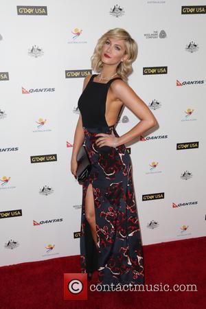 Delta Goodrem - Celebrities attend 2014 G'DAY USA Los Angeles Black Tie Gala to honor Australians Geoffrey Rush, Jacki Weaver...