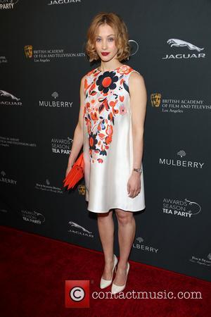 Sarah Gadon - BAFTA Los Angeles Awards Season Tea Party At Four Seasons Hotel - Los Angeles, California, United States...