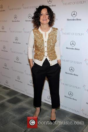 Sara Gilbert - The Art of Elysium's 7th Annual HEAVEN Gala Presented By Mercedes-Benz At Guerin Pavilion at the Skirball...