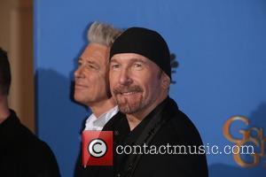 Adam Clayton and The Edge