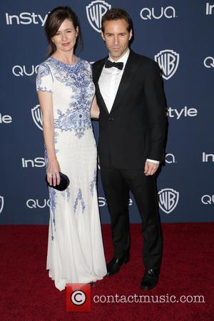 Emily Mortimer and Alessandro Nivola - 15th Annual Warner Bros and InStyle Golden Globe Awards After Party - Arrivals held...