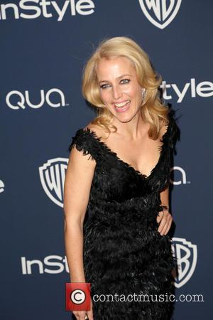 Gillian Anderson - 15th Annual Warner Bros and InStyle Golden Globe Awards After Party - Arrivals held at the Oasis...