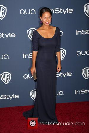 Joy Bryant - 15th Annual Warner Bros and InStyle Golden Globe Awards After Party - Arrivals held at the Oasis...