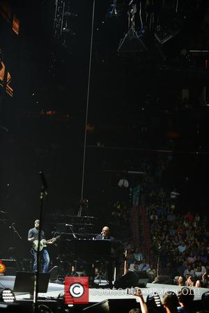 Billy Joel - Billy Joel performing live on stage during his second sold out concert at BB&T Center - Sunrise,...