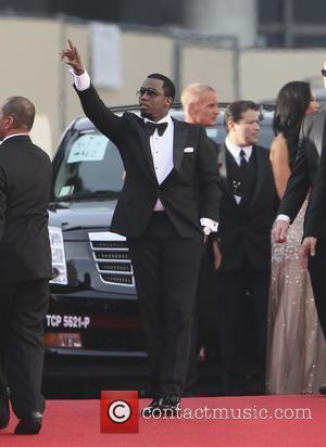 Puff Daddy - 71st Annual Golden Globe Awards held at the Beverly Hilton Hotel - Arrivals - Los Angeles, California,...