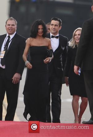 Colin Farrell and Claudine Farrell