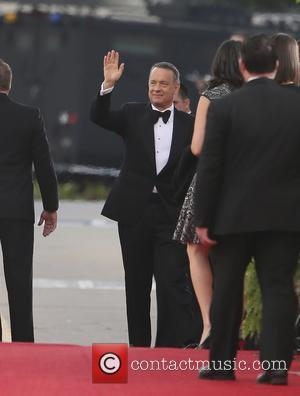 Tom Hanks - 71st Annual Golden Globe Awards held at the Beverly Hilton Hotel - Arrivals - Los Angeles, California,...