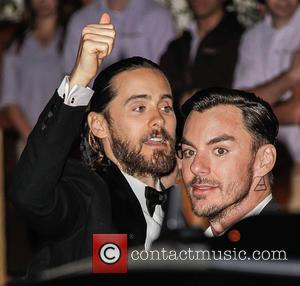 Jared Leto and Shannon Leto - 71st Annual Golden Globe Awards afterparty held at Sunset Towers - Outside Arrivals -...