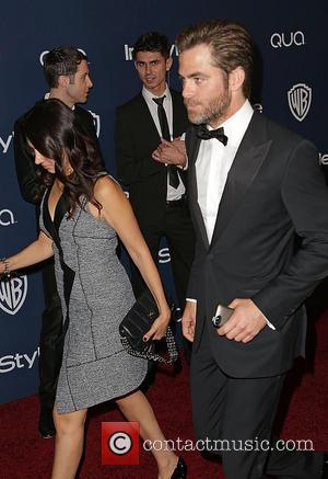 Chris Pine - Celebrities attend the 15th Annual Warner Bros And InStyle Golden Globe Awards After Party - Arrivals held...